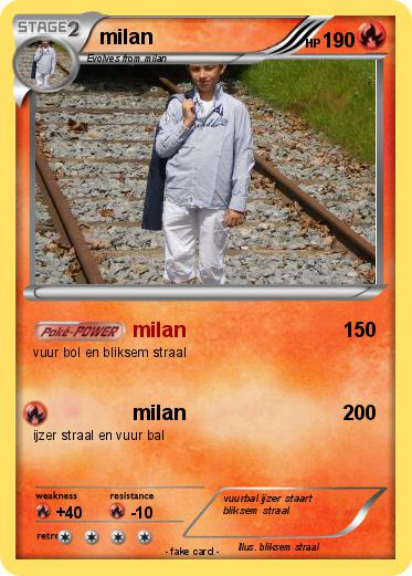 Pokemon milan