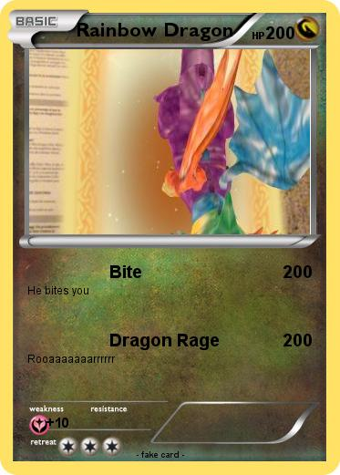 Pokemon Rainbow Dragon