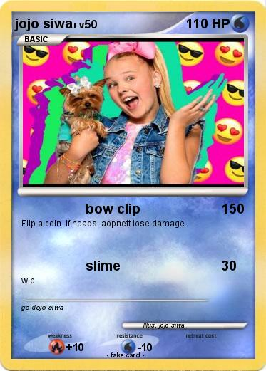 Pokemon jojo siwa