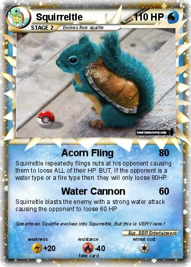 Pokemon Squirreltle