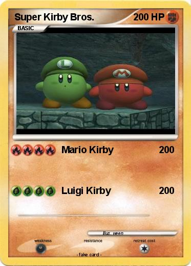 Pokemon Super Kirby Bros.
