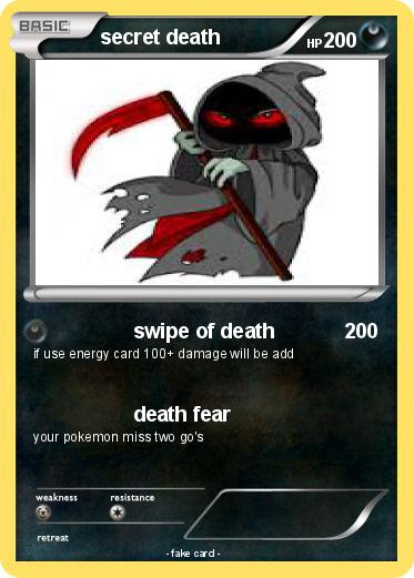 Pokemon secret death
