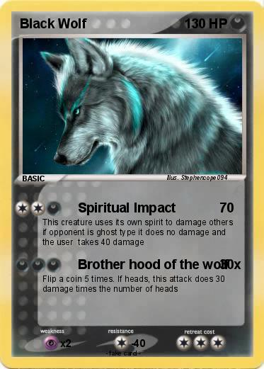 Pokemon Black Wolf