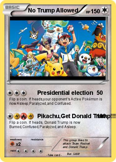 Pokemon No Trump Allowed