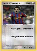 messi LV supper