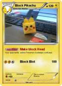 how to get a pickachu head in minecraft