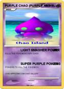 PURPLE CHAO