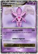 angel espeon