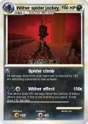 Wither spider