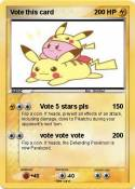 Vote this card