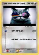 Cats shall rule