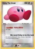 Kirby The Great