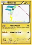 Pokémon Q blast EX - Quick Attack - My Pokemon Card