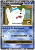 Ice Bear wants