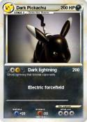 Dark Pickachu