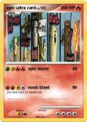 epic ultra card