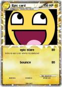 Epic card