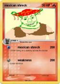 mexican shreck
