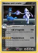 Mewtwo and