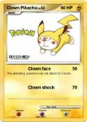 Clown Pikachu