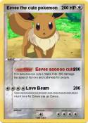 Eevee the cute