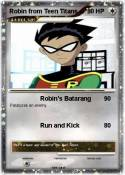Robin from Teen