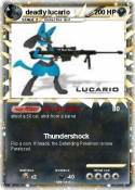 deadly lucario