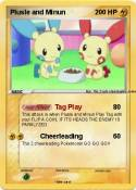 Plusle and