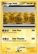 Cute Lego Head