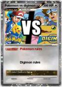 Pokemon vs