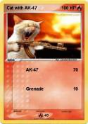 Cat with AK-47