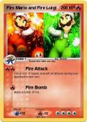 Fire Mario and