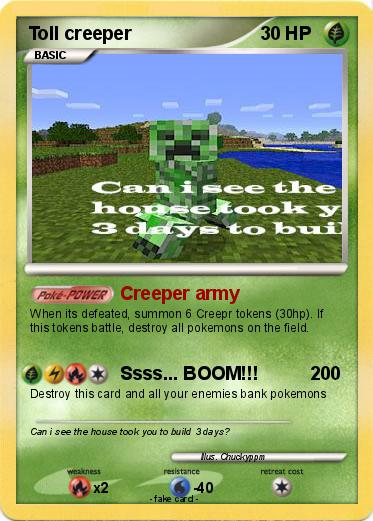 Pokemon Toll creeper