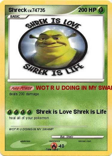 Pokemon Shreck