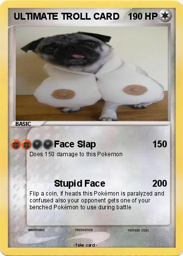 Pokemon ULTIMATE TROLL CARD