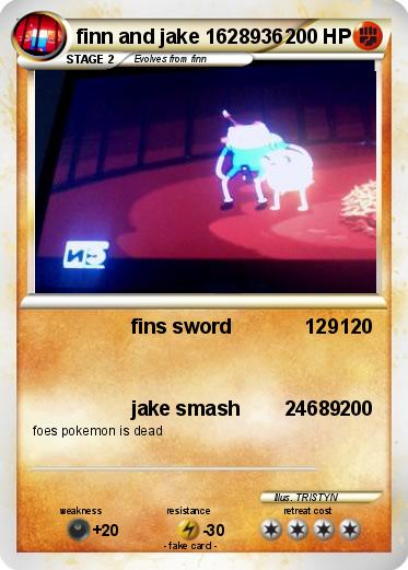 Pokemon finn and jake 1628936