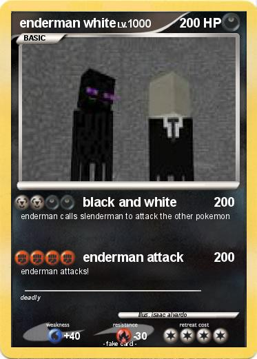 Pokemon enderman white