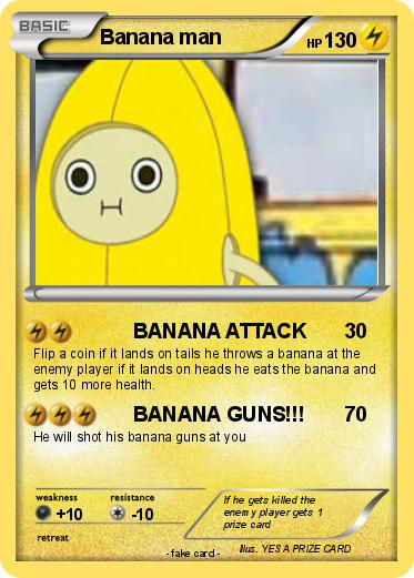 Pokemon Banana man