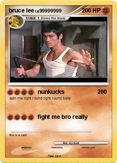 Pokemon bruce lee