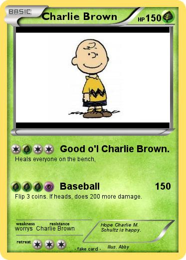 Pokemon Charlie Brown