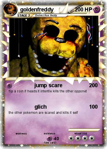 Pokemon goldenfreddy