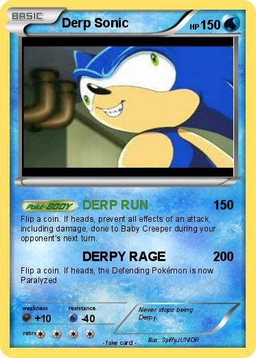 Pokemon Derp Sonic