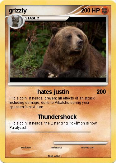 Pokemon grizzly