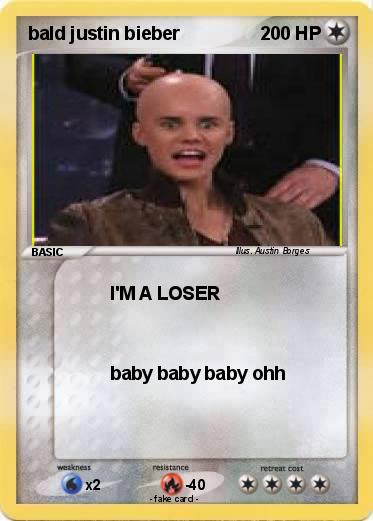 Pokemon bald justin bieber