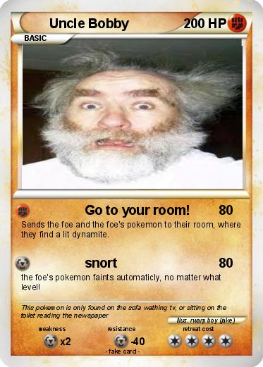 Pokemon Uncle Bobby