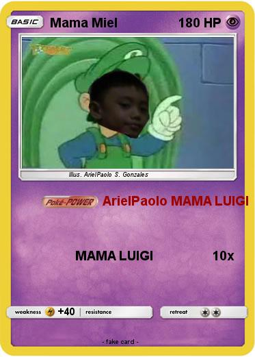 Pokemon Mama Miel