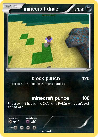 Pokemon minecraft dude