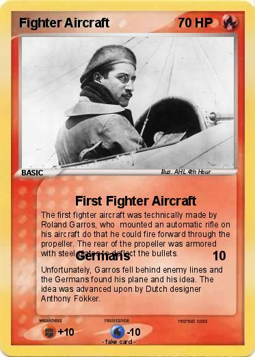 Pokemon Fighter Aircraft