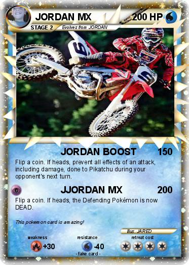 Pokemon JORDAN MX