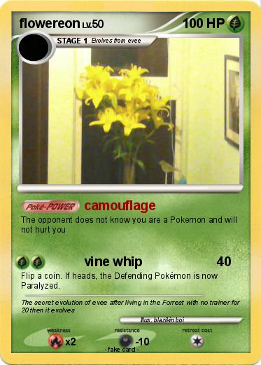 Pokemon flowereon